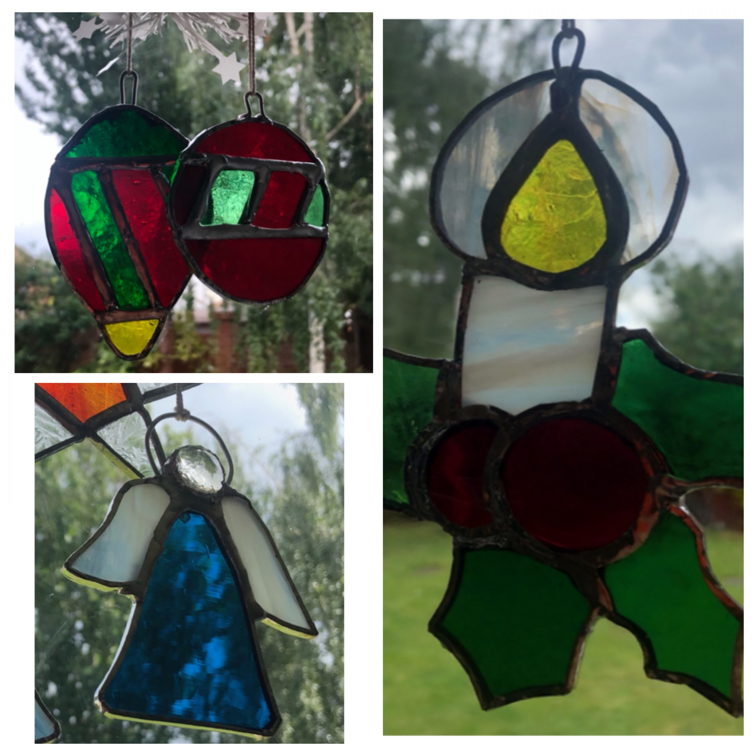 Stained Glass 'Christmas Decorations'