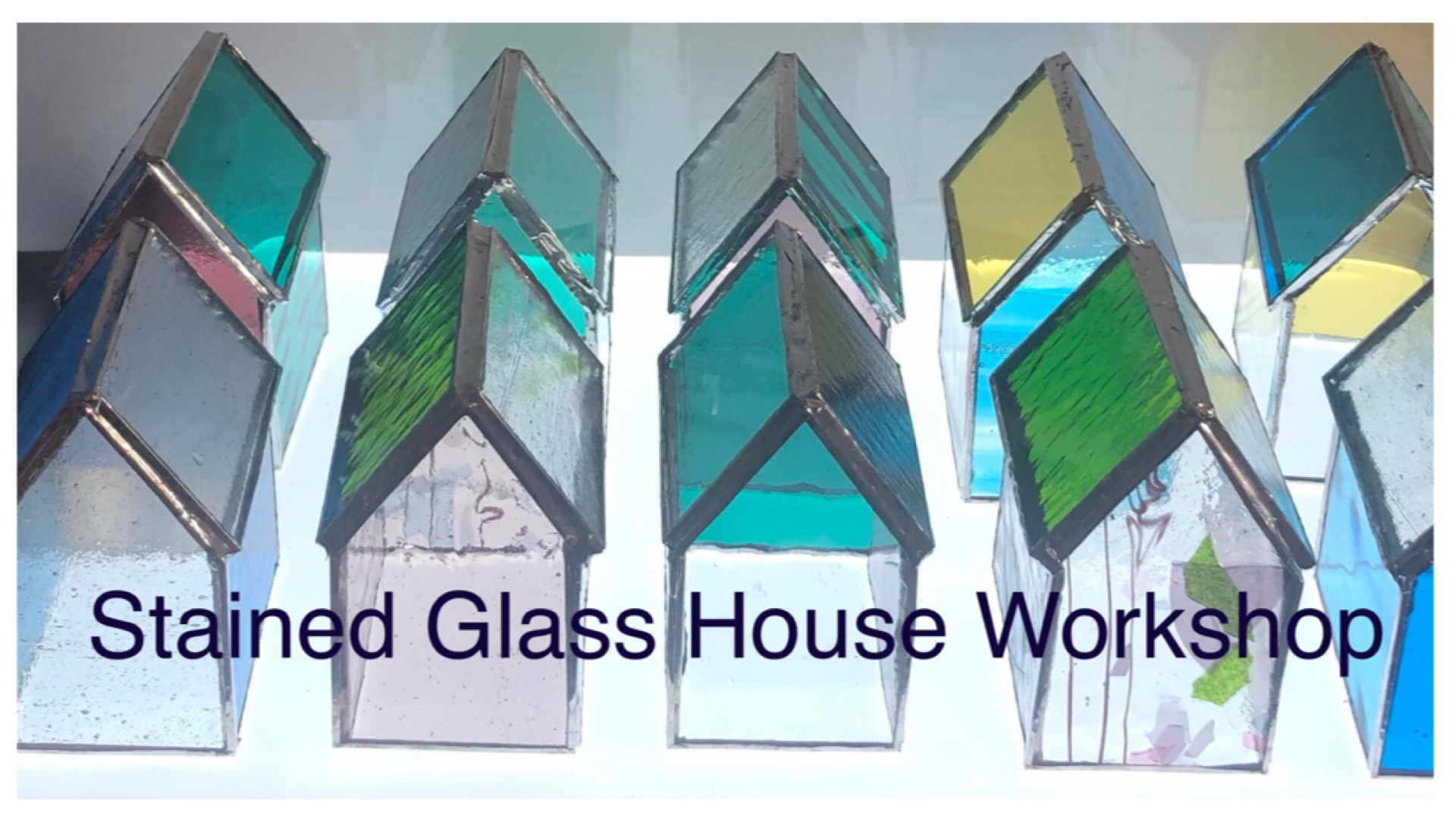 Stained Glass 'House Making'