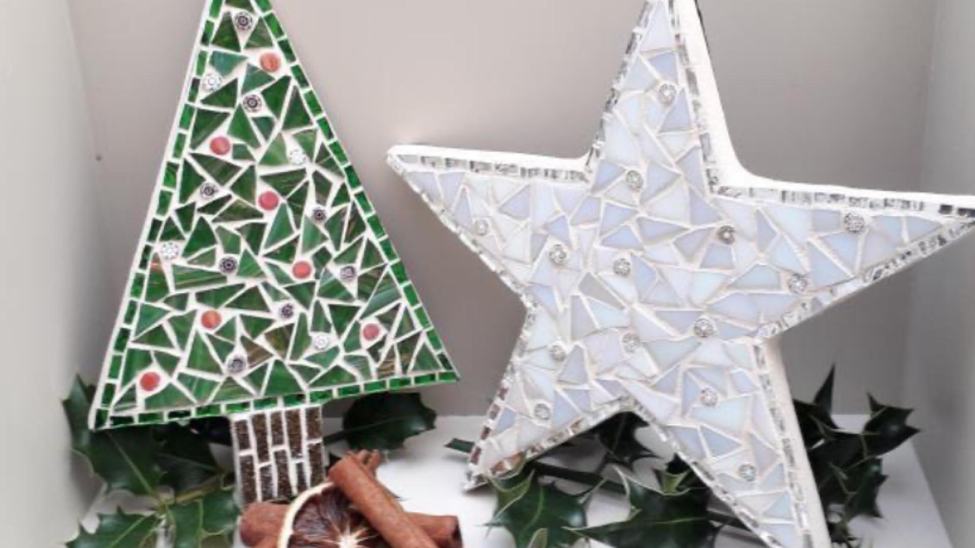 Mosaics Christmas Tree / Star
